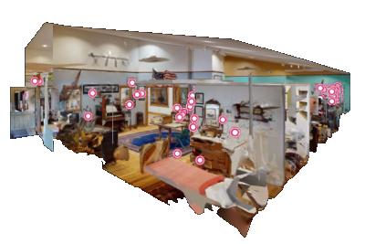 360 Cutaway Image of Museum