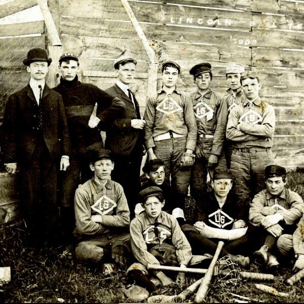 Lincoln High School Baseball Team - 1903