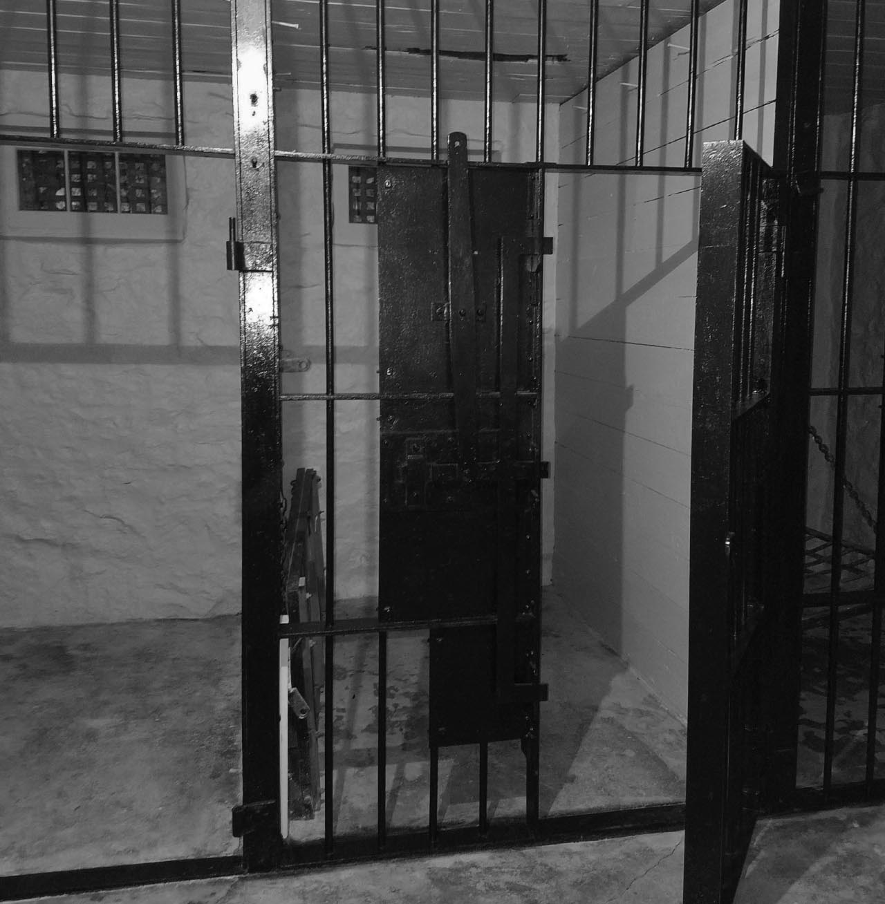Old Bayfield City Jail Cell