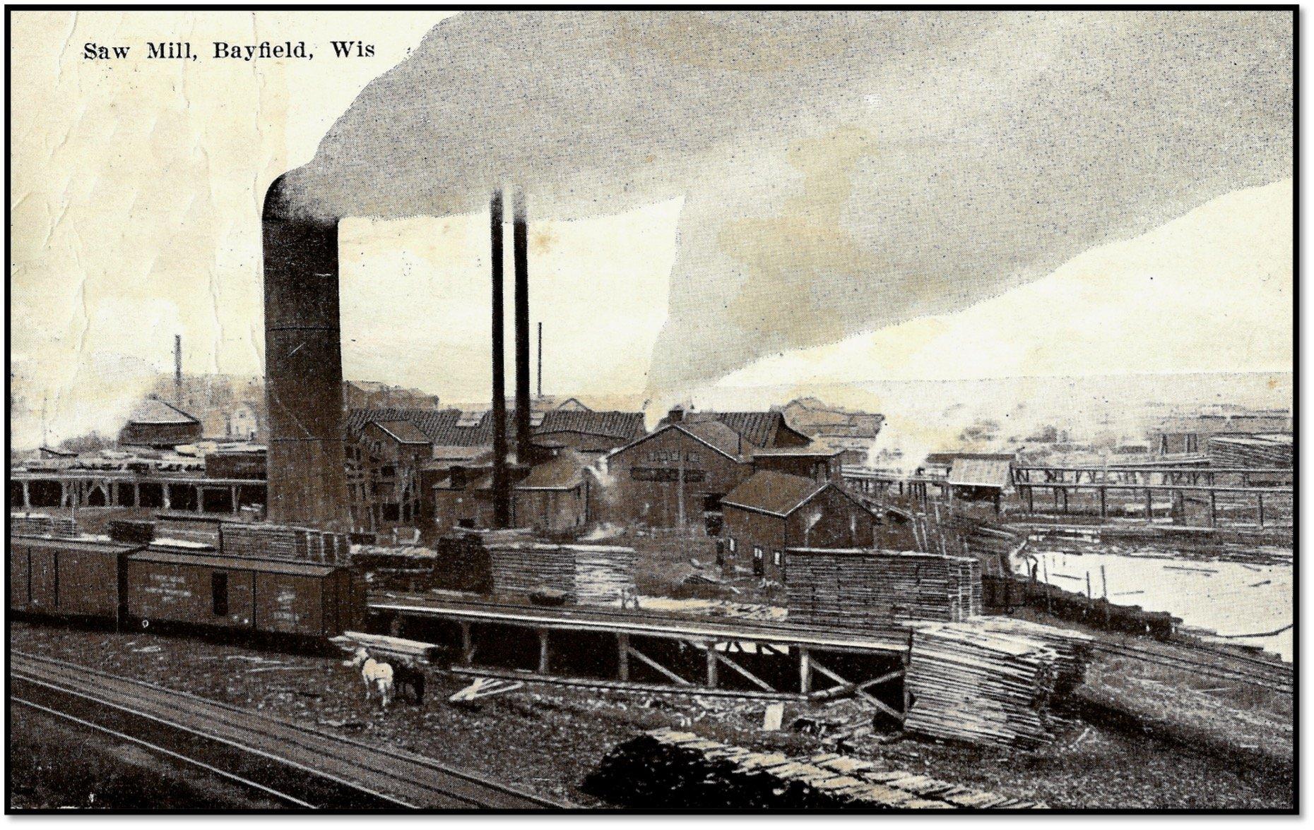 Sawmill Post Card BHA 80.1.519