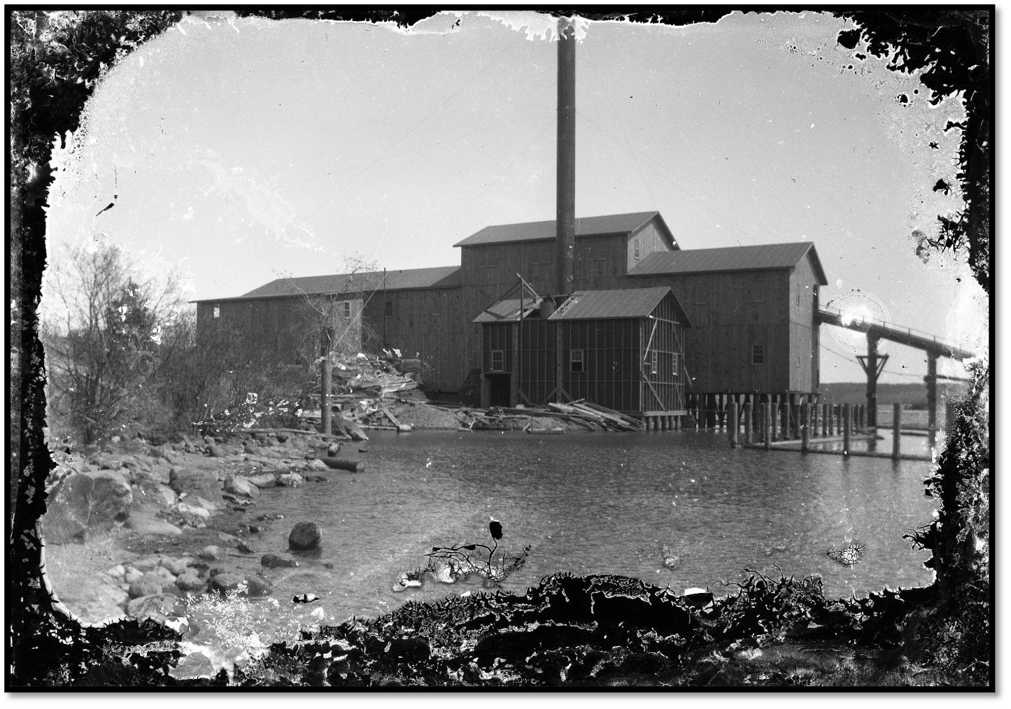 William Knight's Old Mill at Roy's Point Photo Burt Hill
