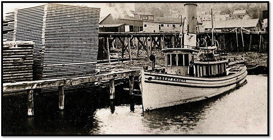 Robert Emmett Waiting for a Tow ca 1903