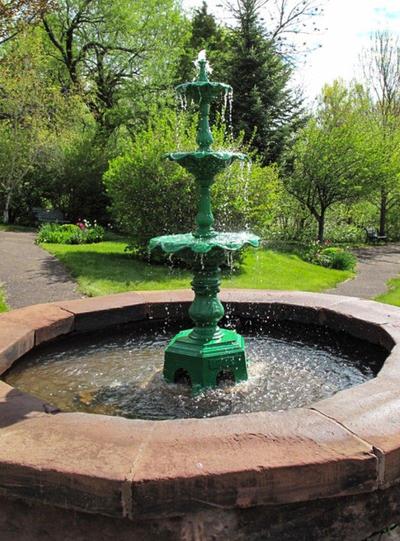 Fountain in Fountain Garden Park