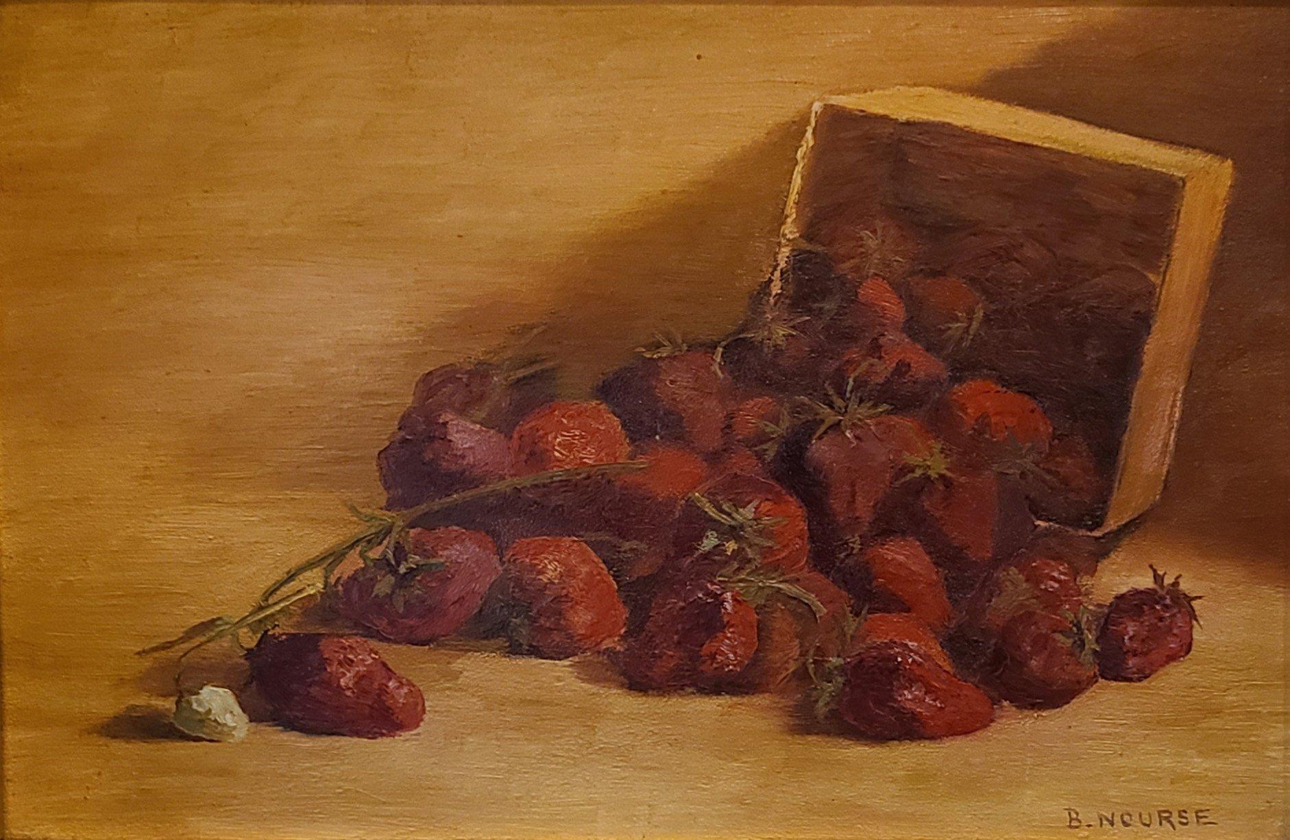 Painting of Strawberries